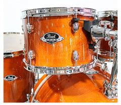Honey Amber Pearl Export Lacquer EXL Drum Kit