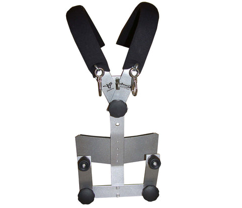 Andante Silver TG Marching Bass Drum Harness