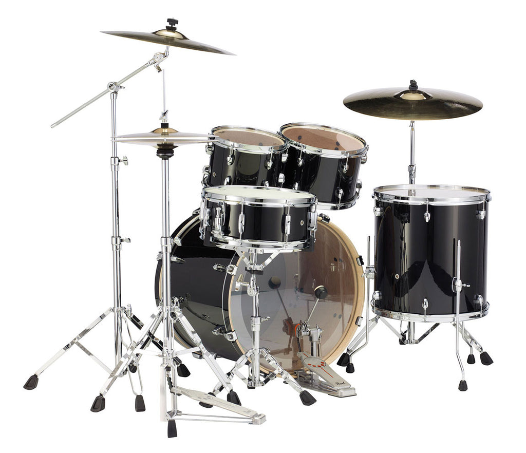 Black Smoke Pearl Export Lacquer EXL Drum Kit