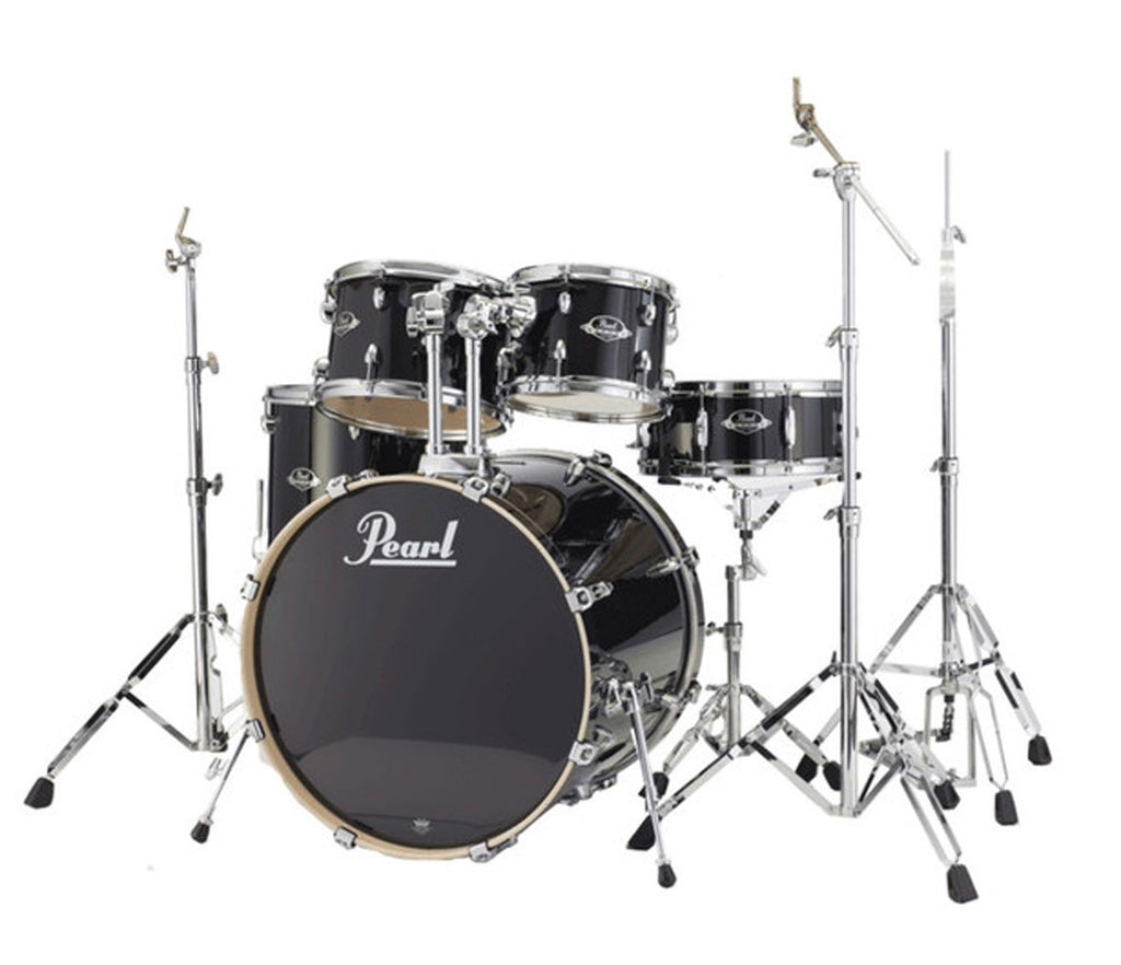Pearl Export Lacquer EXL Drum Kit in Black Smoke
