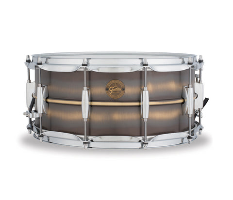 Gretsch Snare Gold Series 14‰۝ x 6.5‰۝ Snare Drum in Brushed Brass