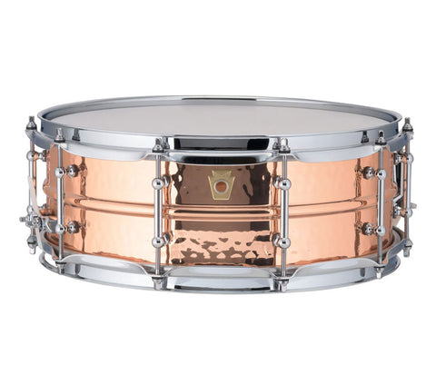 "Ludwig 14"" x 5"" USA Copper Phonic Snare Drum (LC660KT)"