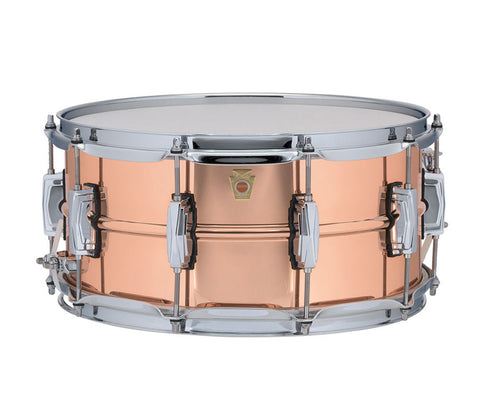 "Ludwig 14"" x 6.5"" USA Copper Phonic Snare Drum (LC662)"