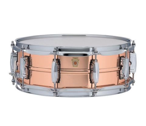 "Ludwig 14"" x 5"" USA Copper Phonic Snare Drum (LC660)"