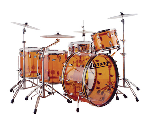 Ludwig Vistalite Zep Beat Shell Pack