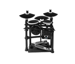 DM lite electronic drum kit folded away
