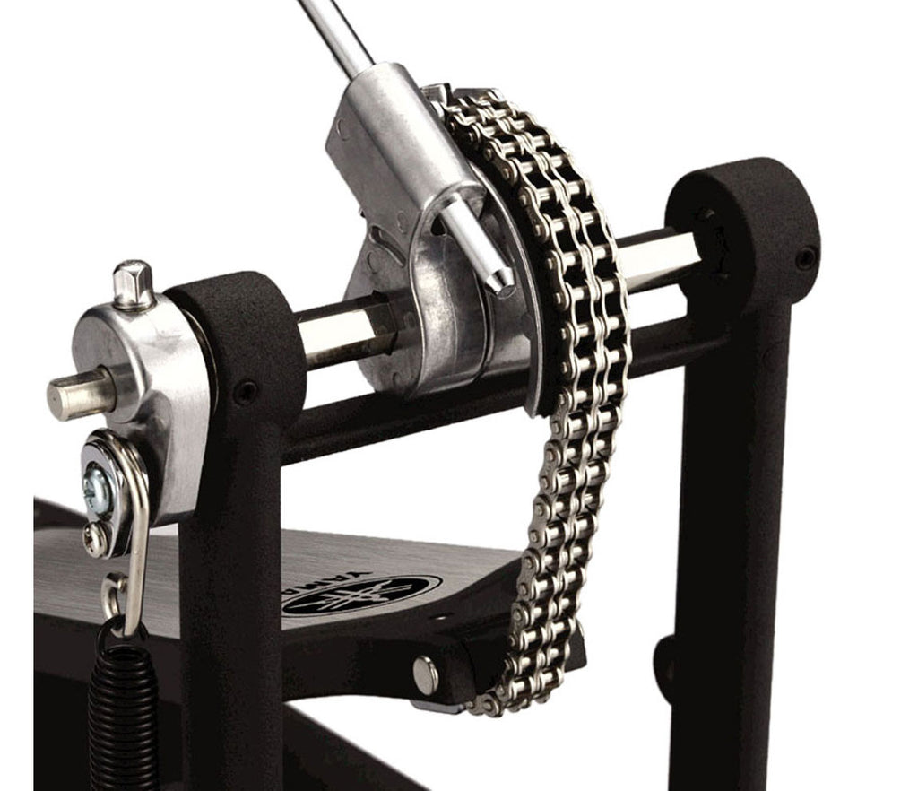 Yamaha FP9500C Double Chain Single Pedal Close Up Chain