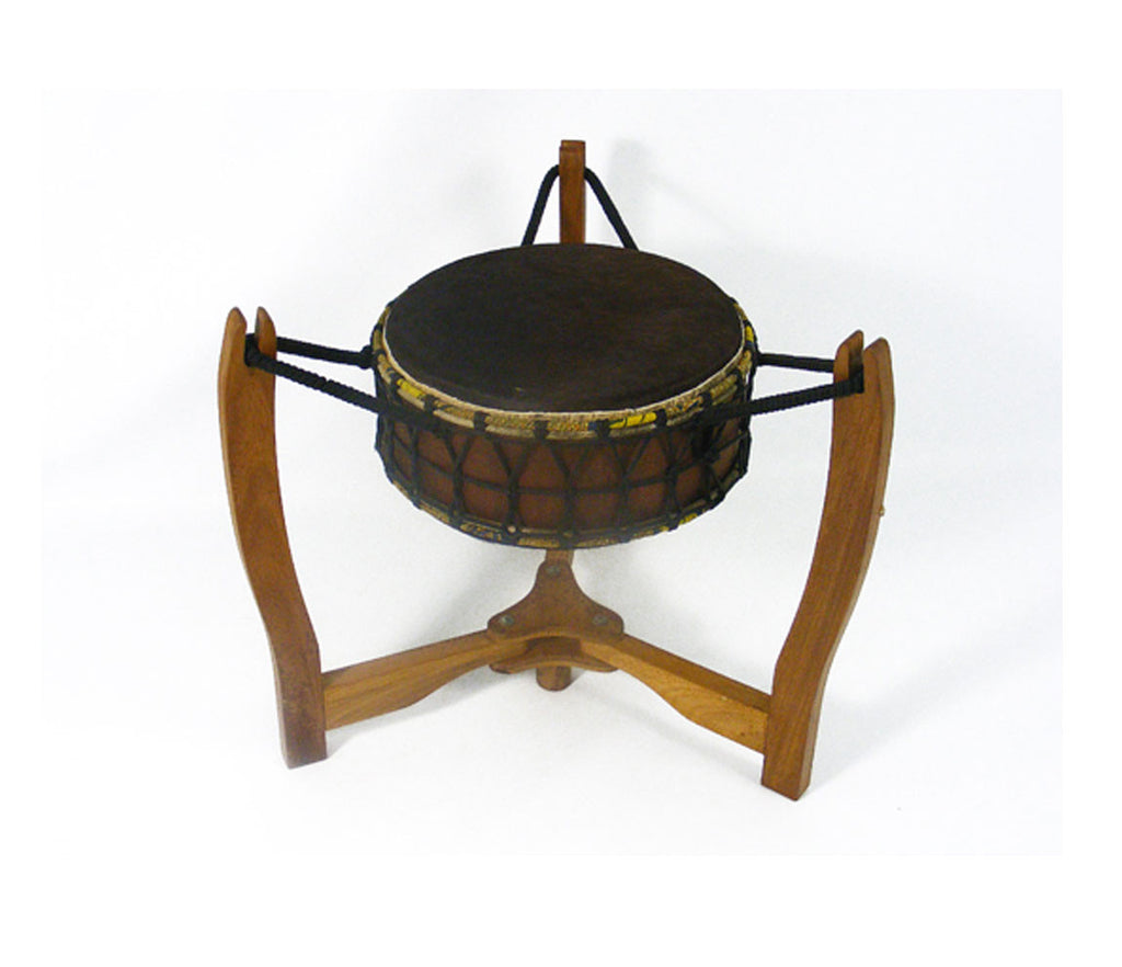 "Pow Wow 15"" x 8"" Drum on stand"