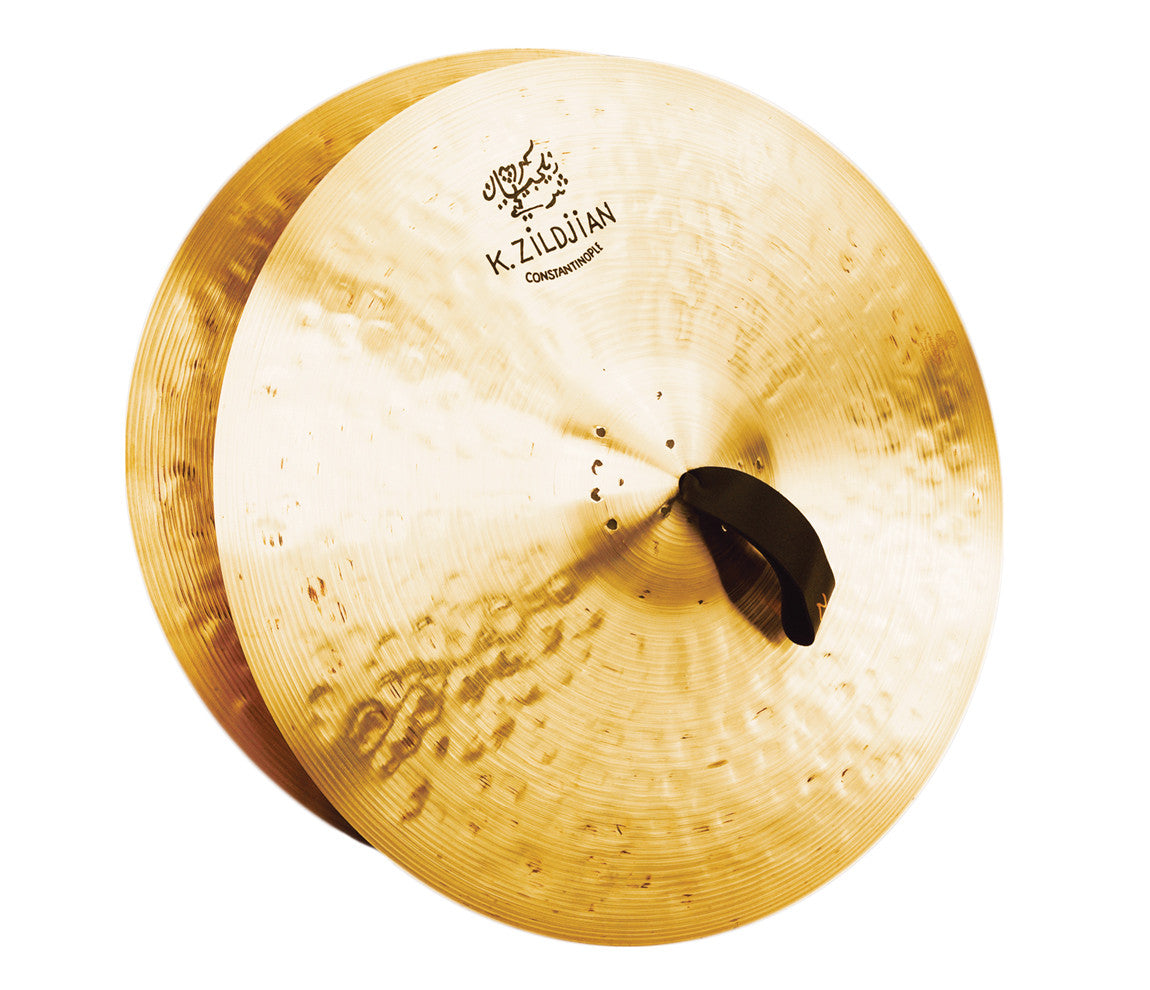 "Zildjian 18"" K Constantinople Medium Light Pair with Pads, Straps & Bag"