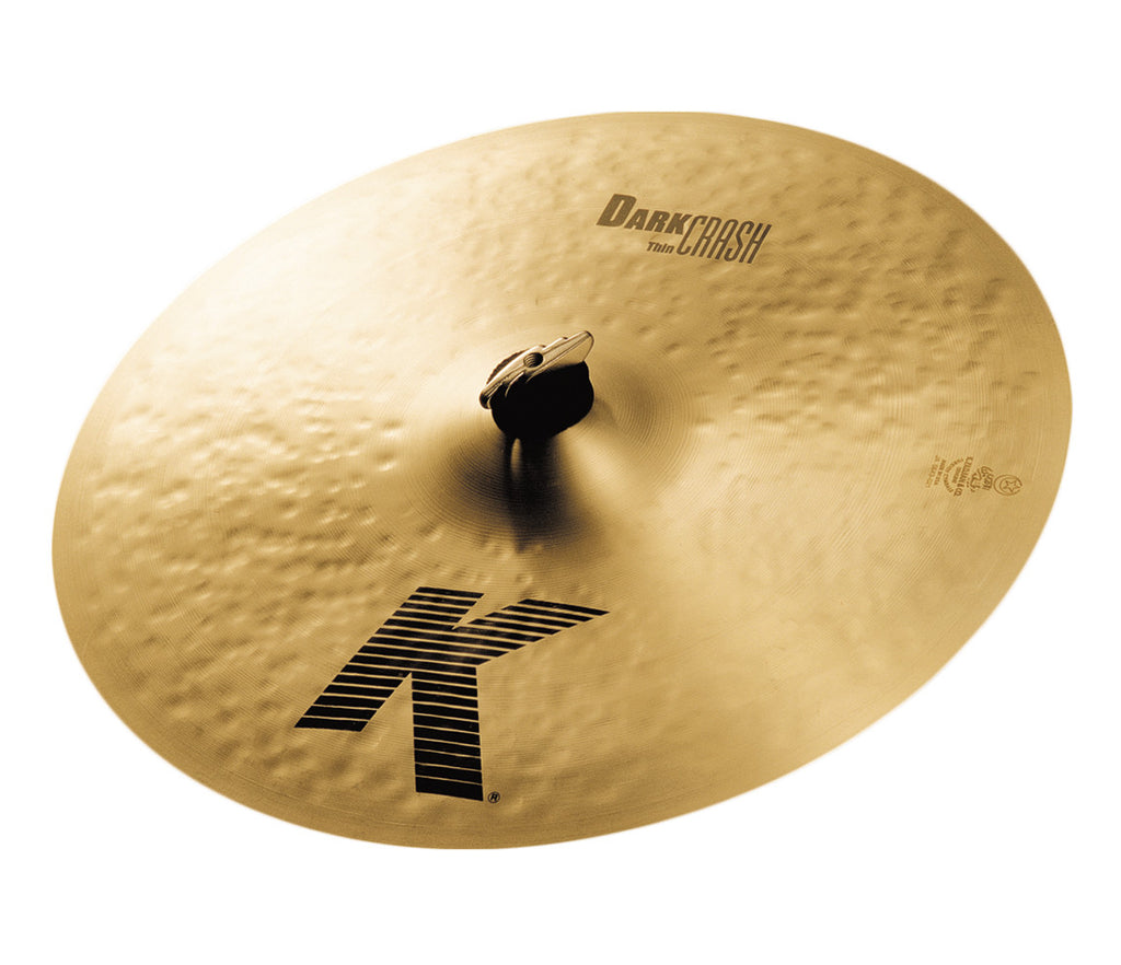 "Zildjian 16"" K Dark Crash Thin Cymbal"