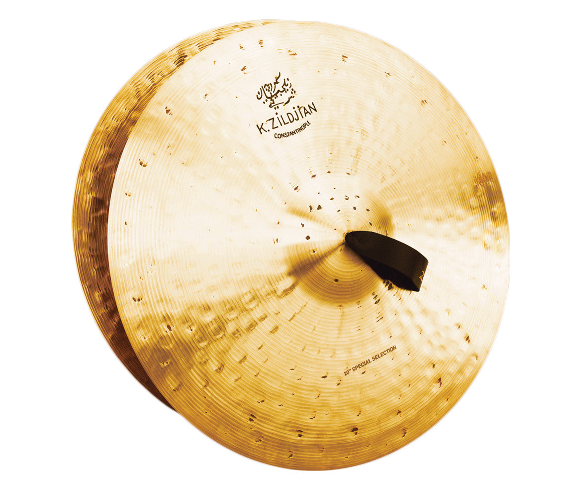 "Zildjian 20"" K Constantinople Special Selection Medium Heavy Pair w/ Pads, Straps & Bag"