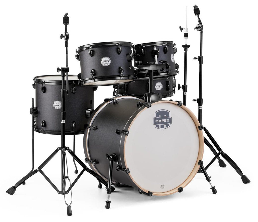 mapex storm 5 piece fusion drum kit with hardware. Black Bedroom Furniture Sets. Home Design Ideas