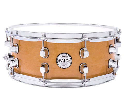 "Mapex MPX Natural Maple Finish  13"" x 6"" Snare Drum"
