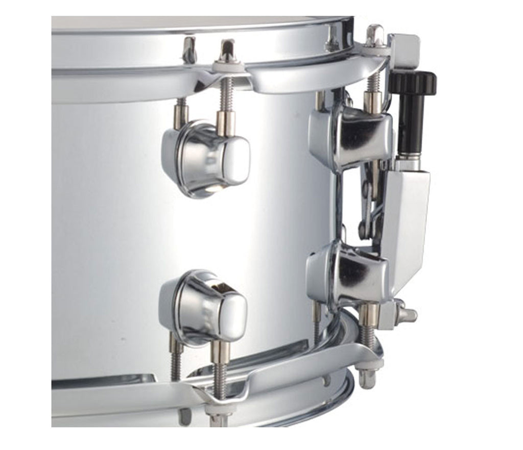"Mapex MPX Steel 14"" x 5.5"" Snare Drum Close Up 2"