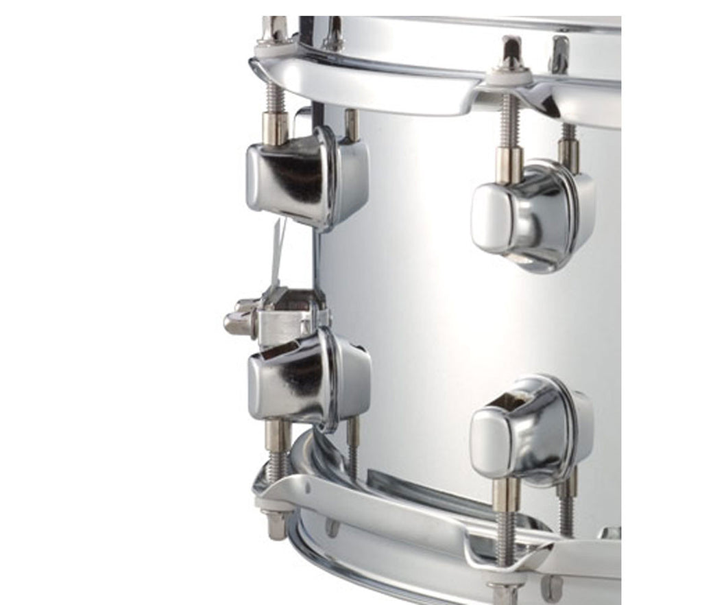 "Mapex MPX Steel 14"" x 5.5"" Snare Drum Close Up"