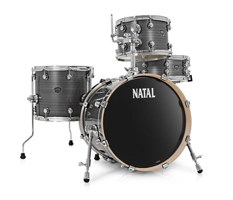 Natal Arcadia UR24 4-Piece Birch Drum Kit in Wrap Finishes (Hardware & Paiste Cymbals Included)