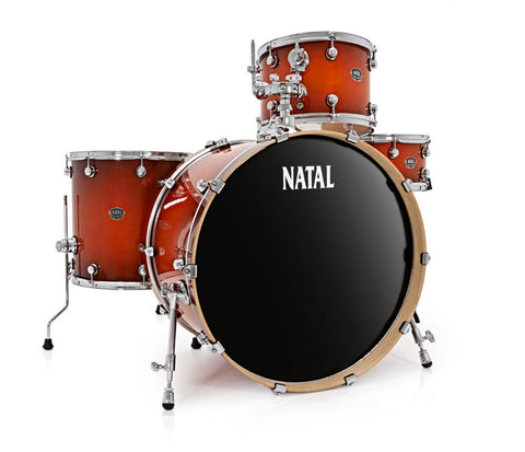 Natal Arcadia Rock 4-Piece Shell Pack in Sunburst Lacquer