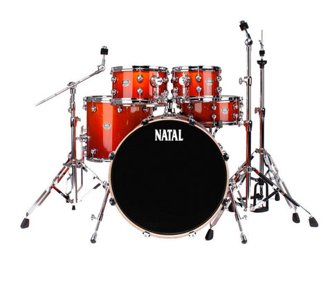 Natal Arcadia UFX Plus 5-Piece Shell Pack in Sunburst Lacquer