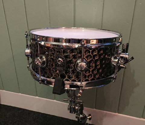 "Natal 13"" x 5.5"" Hand Hammered Nickel Snare Drum"