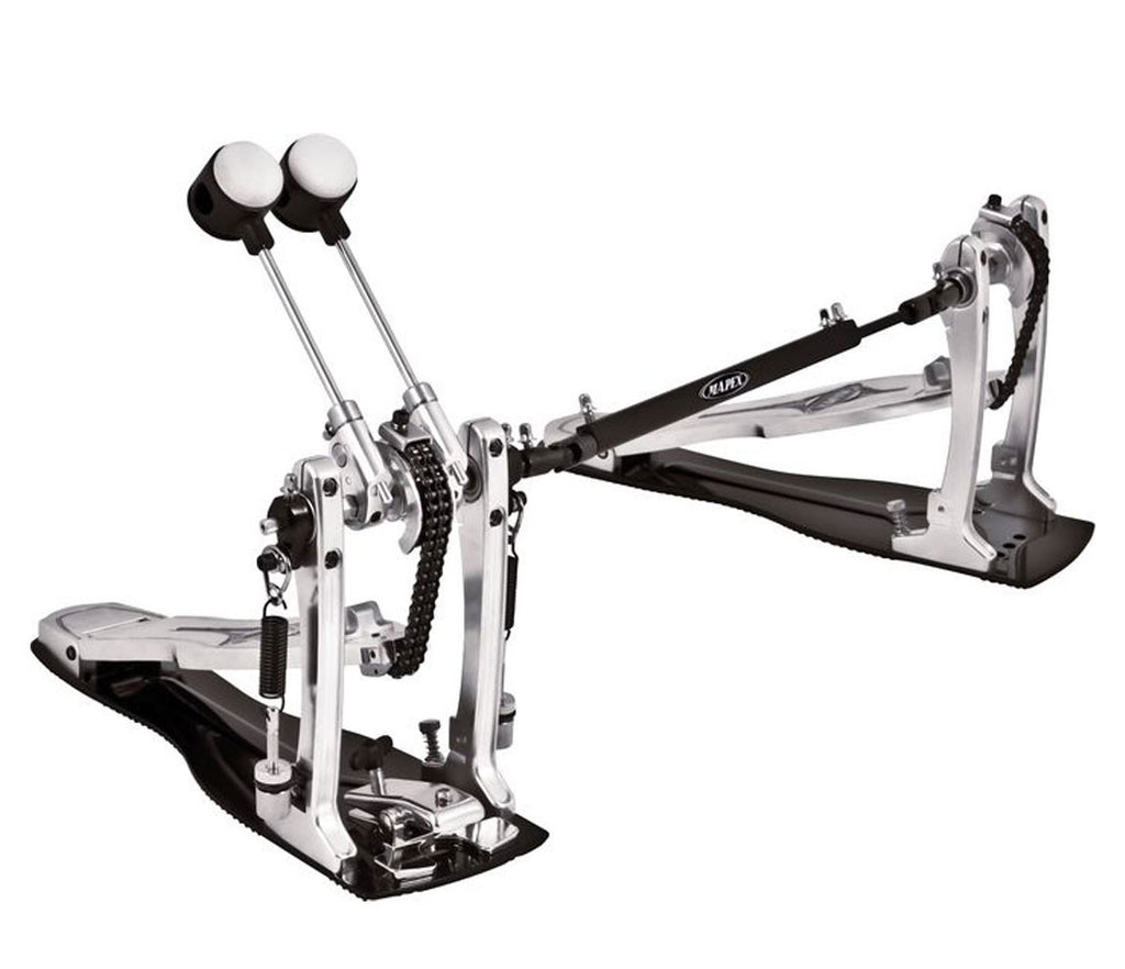 Mapex P900DTW Raptor Double Pedal Angle