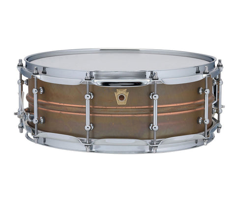 "Ludwig 14"" x 5"" USA Copper Phonic Snare Drum (LC661T)"