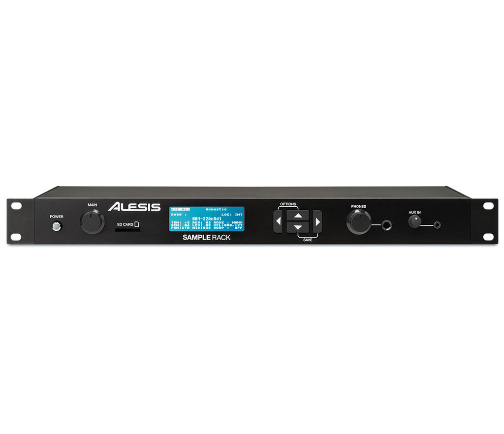 alesis sample rack module