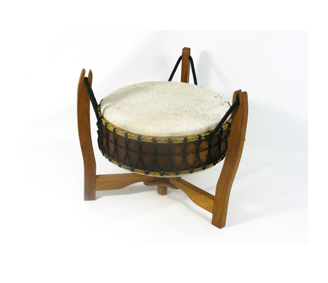 Pow Wow Drum on Stand - 24in x 28cm deep includes 3 beaters