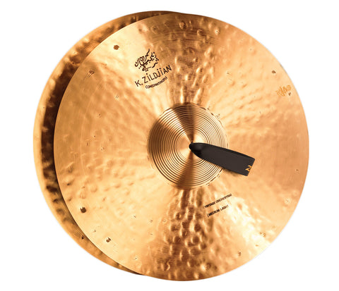 "Zildjian 20"" K Constantinople Vintage Medium Light Pair Cymbals with Pads, Straps and Bag"