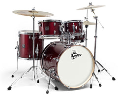 Gretsch GE2 Energy 5-Piece Complete Drum Kit - GE2-E605TK in Wine Red