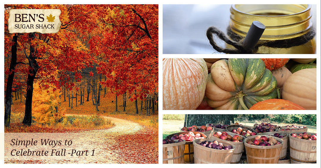 Simple Ways to Celebrate Fall—Part 1
