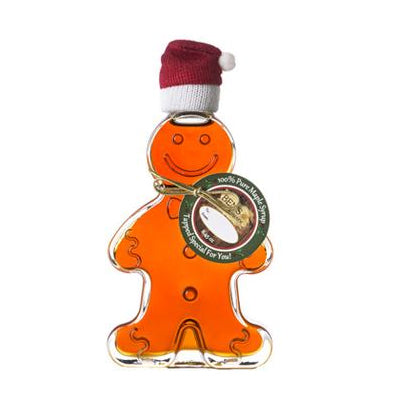 Pure Maple Syrup in Gingerbread Man (Corporate Gift Favors)