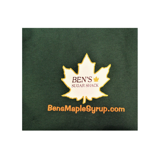 "Ben's ""Got Sap"" T-shirt- Green"