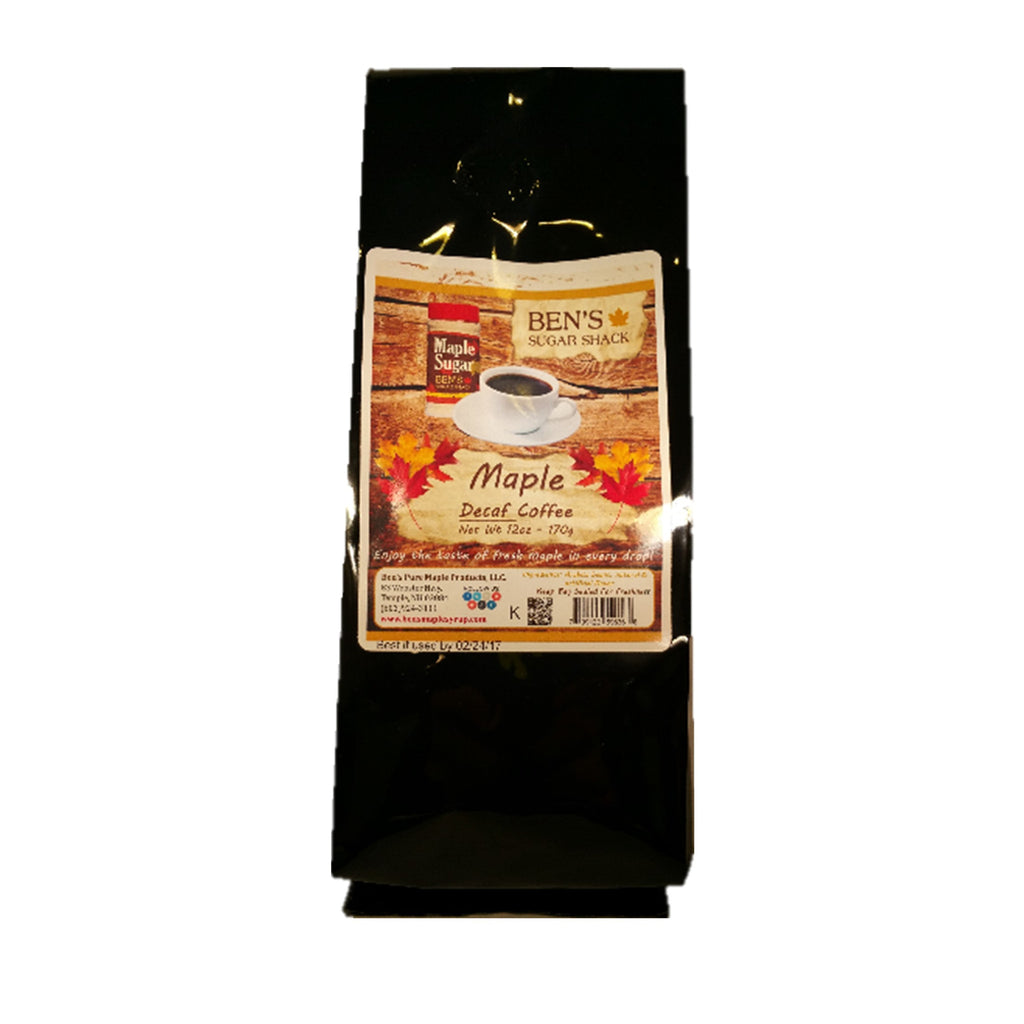 Maple Coffee Decaf - 12 oz bag