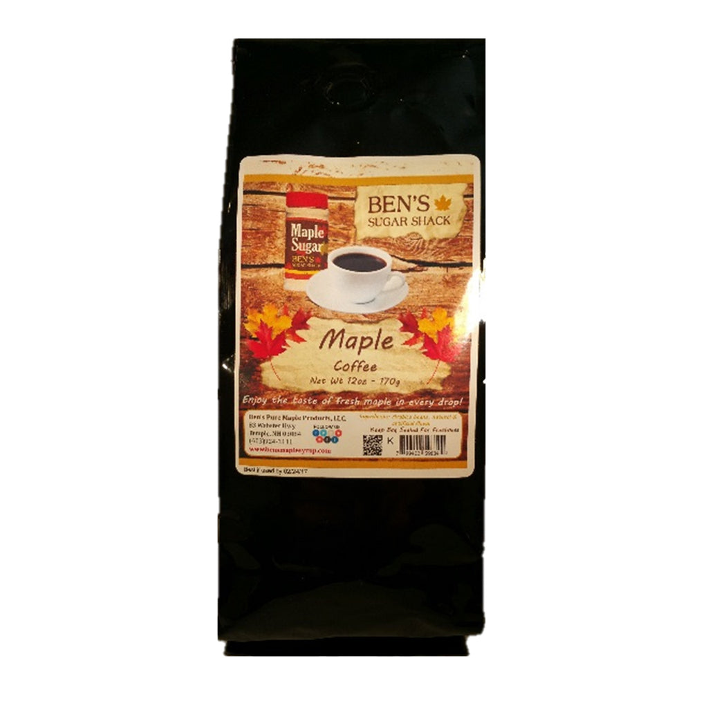Maple Coffee - 12 oz bag