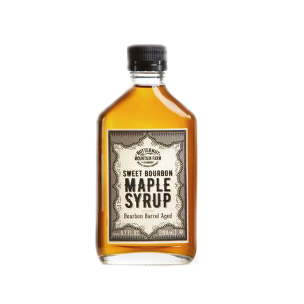 Vermont Infused Bourbon Maple Syrup
