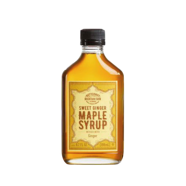 Vermont Infused Sweet Ginger Maple Syrup