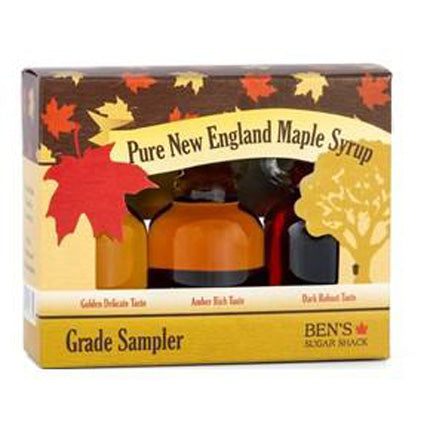 New England Maple Syrup Grading Sampler Set (Corporate Gift Favors)