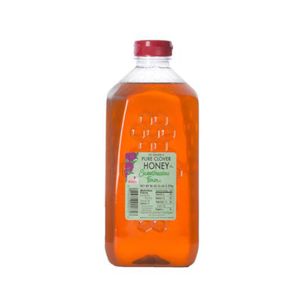 Clover Honey (5LB) Plastic Jug
