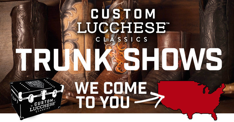 We come to your city to sell custom lucchese classics