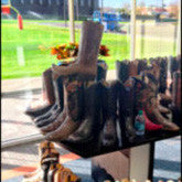 Selling Lucchese Classics in an NFL clubhouse