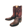 Chocolate Shaved Stingray Custom Lucchese Boots