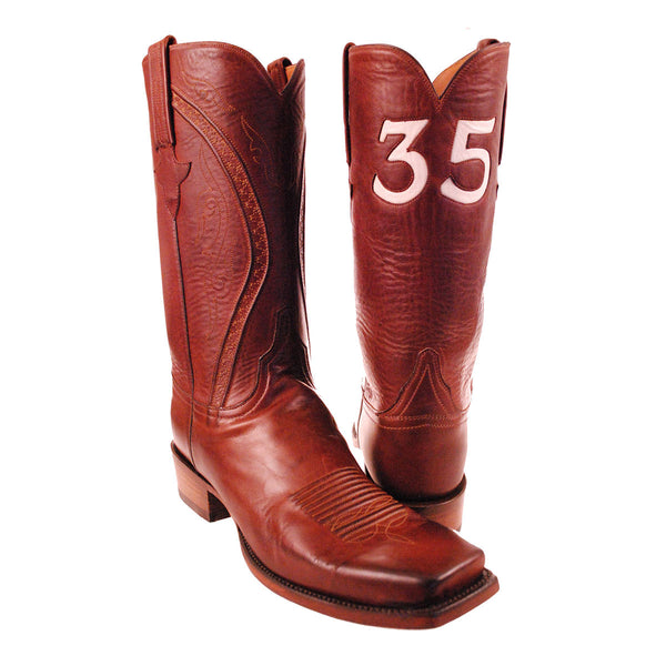 35 Burnished Ranch Hand Calfskin