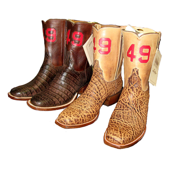 49 - Pair of Custom Boots