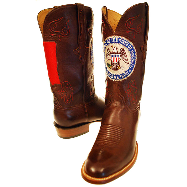State of Mississippi Ranch Hand Calfskin