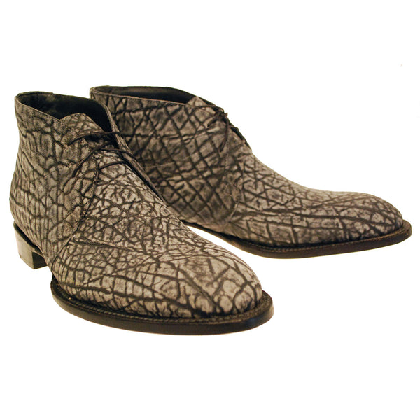 Grey Safari Elephant Chukka Boot