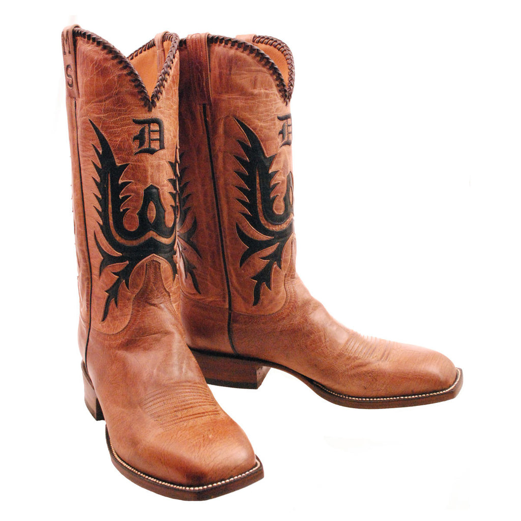 Tan Mad Dog Goat Custom lucchese Classics