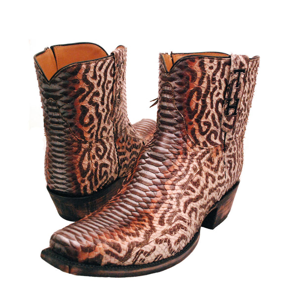 Custom Hand Painted Python Lucchese Classics
