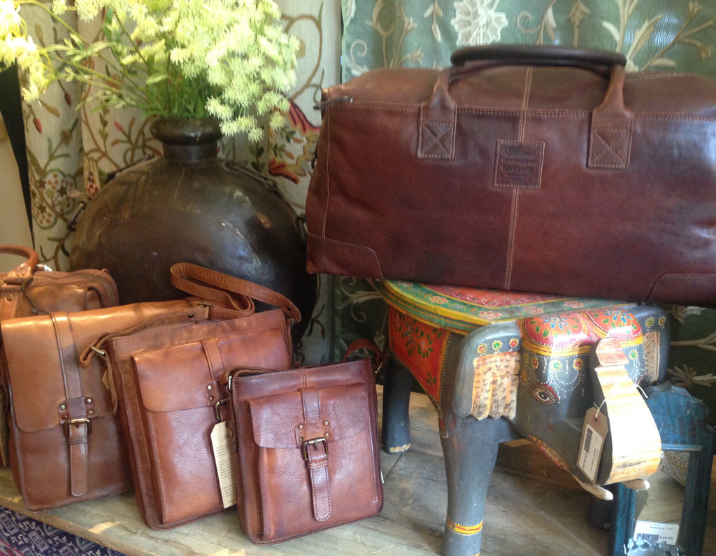 LEATHER BAGS, WALLETS & ACCESSORIES