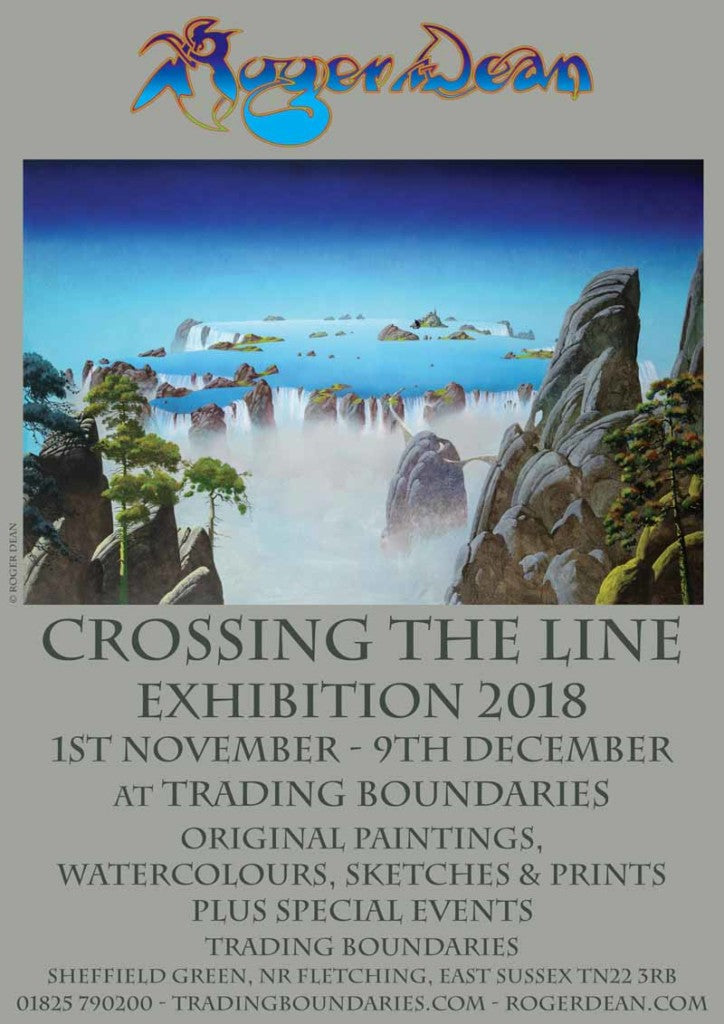 Roger Dean Art Exhibition 2018 and Live Events