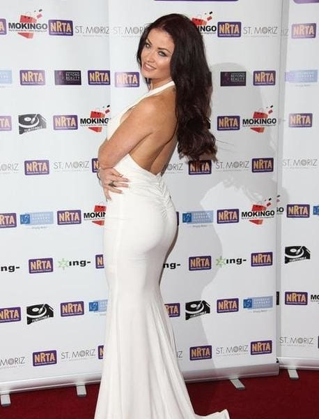 Naked Dresses at UK National Reality TV Awards 2015
